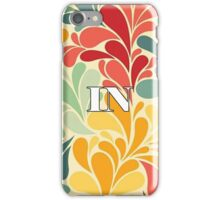Floral Indiana iPhone Case/Skin
