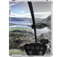 Helicopter High ( 3 ) Half and Half iPad Case/Skin