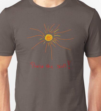 Praise the sun cartoon Unisex T-Shirt