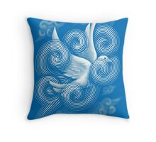 Crossing Clouds Throw Pillow