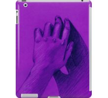 hand with shadow iPad Case/Skin