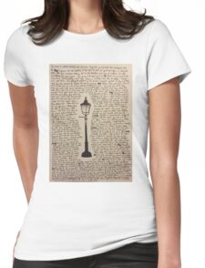 The Lamp Post Womens Fitted T-Shirt