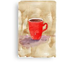 Coffee, coffee, coffee! Canvas Print