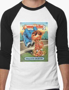 Disgustin Dustin  Men's Baseball ¾ T-Shirt