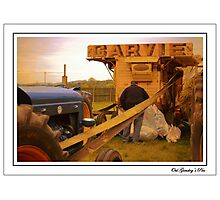 The Oul Garvie Thresher Photographic Print