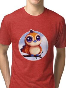 Pepe the Bird  Tri-blend T-Shirt