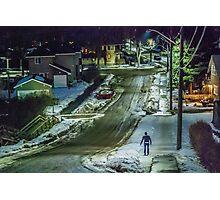 January Night Photographic Print