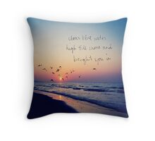Taylor Swift Clean Quote Throw Pillow