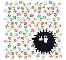 Goofy Soot Sprite Photographic Print