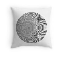 Psychedelic Whirlpool Throw Pillow