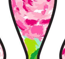 Lululemon Flowers Sticker