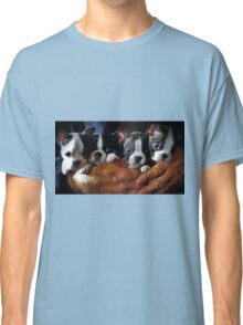 Safe In The Arms Of Love - Puppy Art Classic T-Shirt