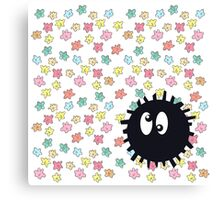 Silly Soot Sprite Canvas Print