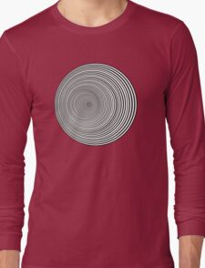 Psychedelic Whirlpool Long Sleeve T-Shirt
