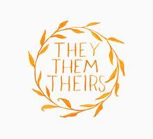 They Series-Orange T-Shirt