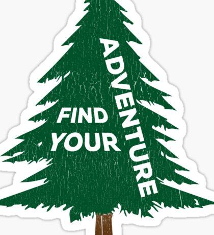 Find Your Adventure Sticker