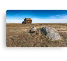 Prairie Rock Garden Canvas Print