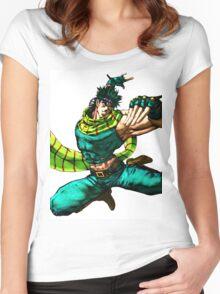 Joseph Joestar - JoJo's Bizarre Adventure Women's Fitted Scoop T-Shirt