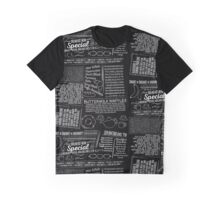 Chalkboard Breakfast Graphic T-Shirt