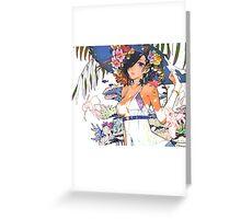 Kirishima Touka Greeting Card