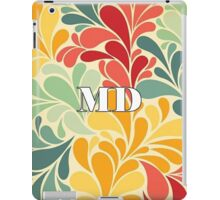 Floral Maryland iPad Case/Skin