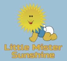Little Mister Sunshine - Baby Boy One Piece Jumpsuit PJ One Piece - Short Sleeve