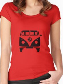 vw kombi Women's Fitted Scoop T-Shirt