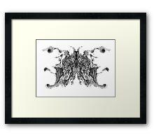 Cosmic Inkblot Framed Print