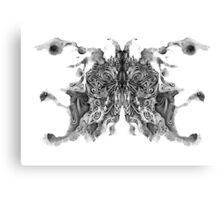 Cosmic Inkblot Canvas Print
