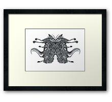 Mongrel Inkblot Framed Print