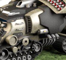 Futuristic Missile Launcher Vehicle Sticker