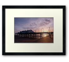 The First Sunrise of the New Year Framed Print