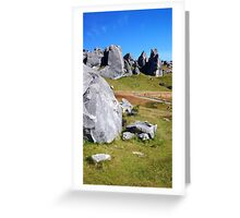 Middle Earth Rises Greeting Card