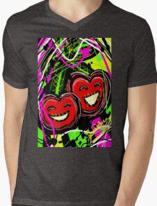 Adorable Cherry  Mens V-Neck T-Shirt