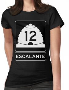 Utah 12 - Escalante Womens Fitted T-Shirt