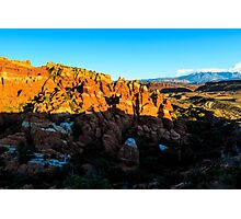 Fiery Furnace at Arches National Park Photographic Print