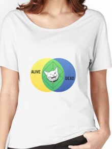 Schrödinger's Cat Venn Diagram Women's Relaxed Fit T-Shirt