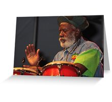 Burning Spear Greeting Card