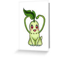 Adorable Chikorita! Greeting Card