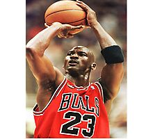 Michael Jordan Photographic Print