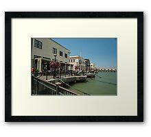 Embarcadero, San Francisco Framed Print