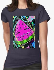 Adorable Watermelon Womens Fitted T-Shirt