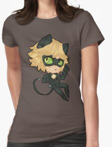 Chat Noir Womens Fitted T-Shirt