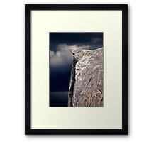 Climbers On Half Dome 2 Framed Print