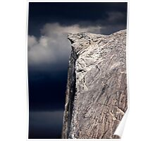 Climbers On Half Dome 2 Poster
