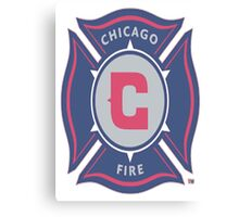 CHICAGO FIRE logo Canvas Print
