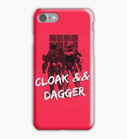 Red vs Blue Cloak and Dagger Phone Case iPhone Case/Skin
