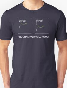 Programmer will know T-Shirt