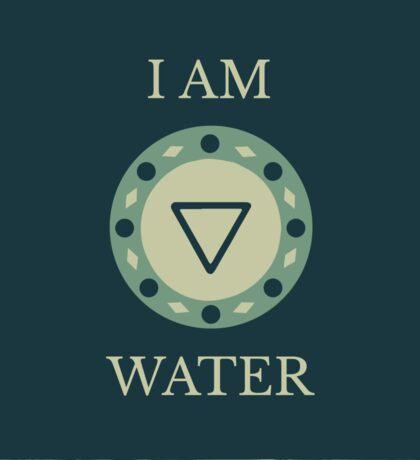 I AM WATER Sticker