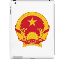 Emblem of North Vietnam, 1955-1976  iPad Case/Skin